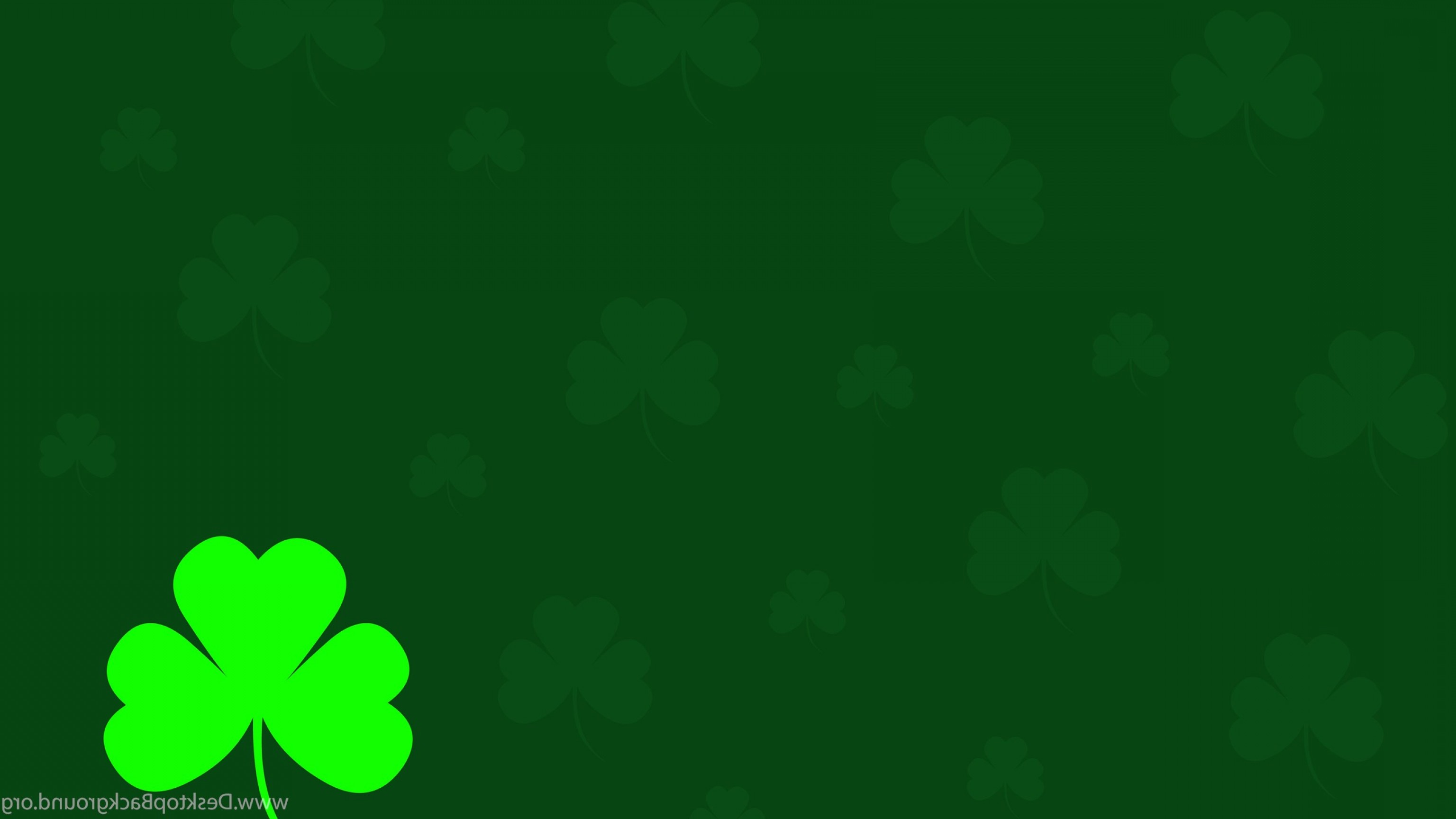 Vector Shamrock Ivory Color: Hd Shamrock Green Leaves Vector Wallpapers Full Size