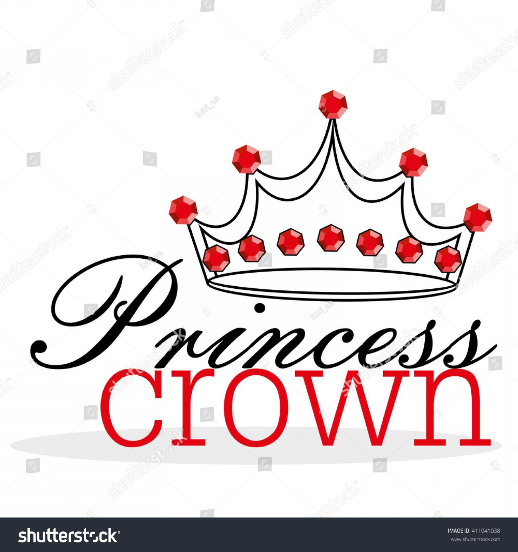 Pageant Tiaras Vector: Hd Stock Vector Princess Crown Illustration File Free