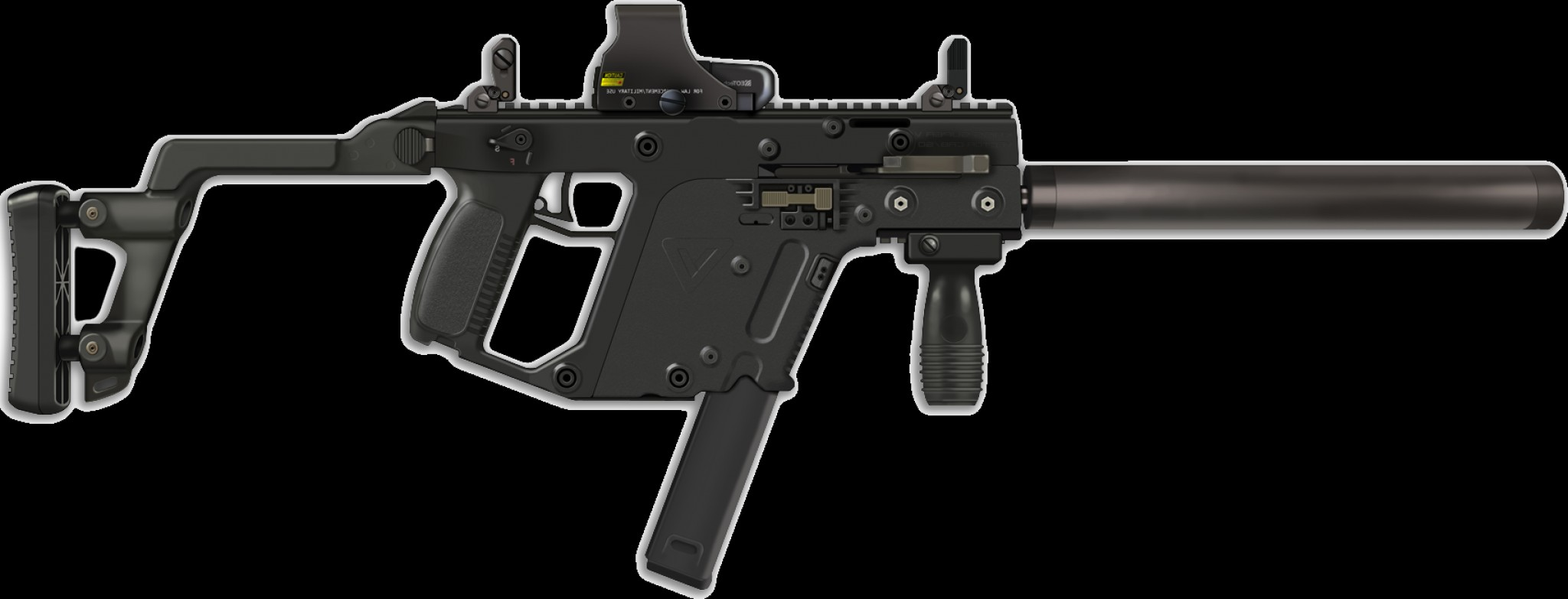 For Kriss Vector Side Picatinny Rails: Hd Vector Crb Vector File Free