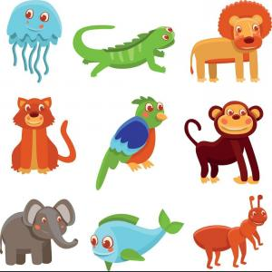 Baby Dragon Silhouette Vector: Hd Drawings Of Cartoon Animals Vector Images