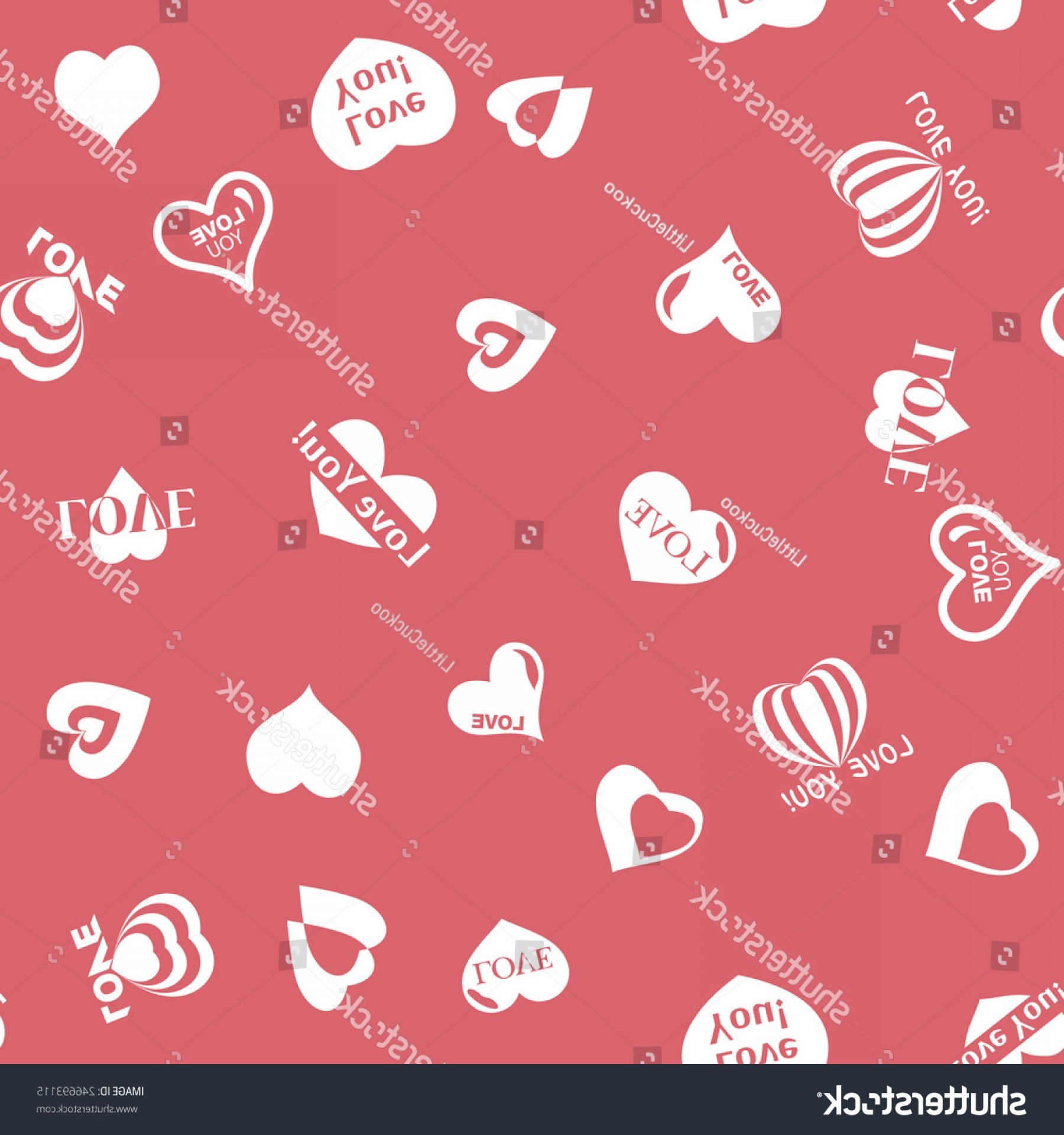 Cool Vector Hearts Pattern Symbol Pattern: Heart Pattern Valentines Day Seamless Texture