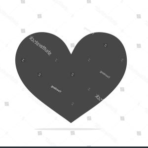 ShutterStock Vector Love: Heart Icon Vector Love Symbol Gray