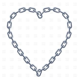 Tow Chain Vector: Stock Illustration Blockchain Technology Modern Icon Vector