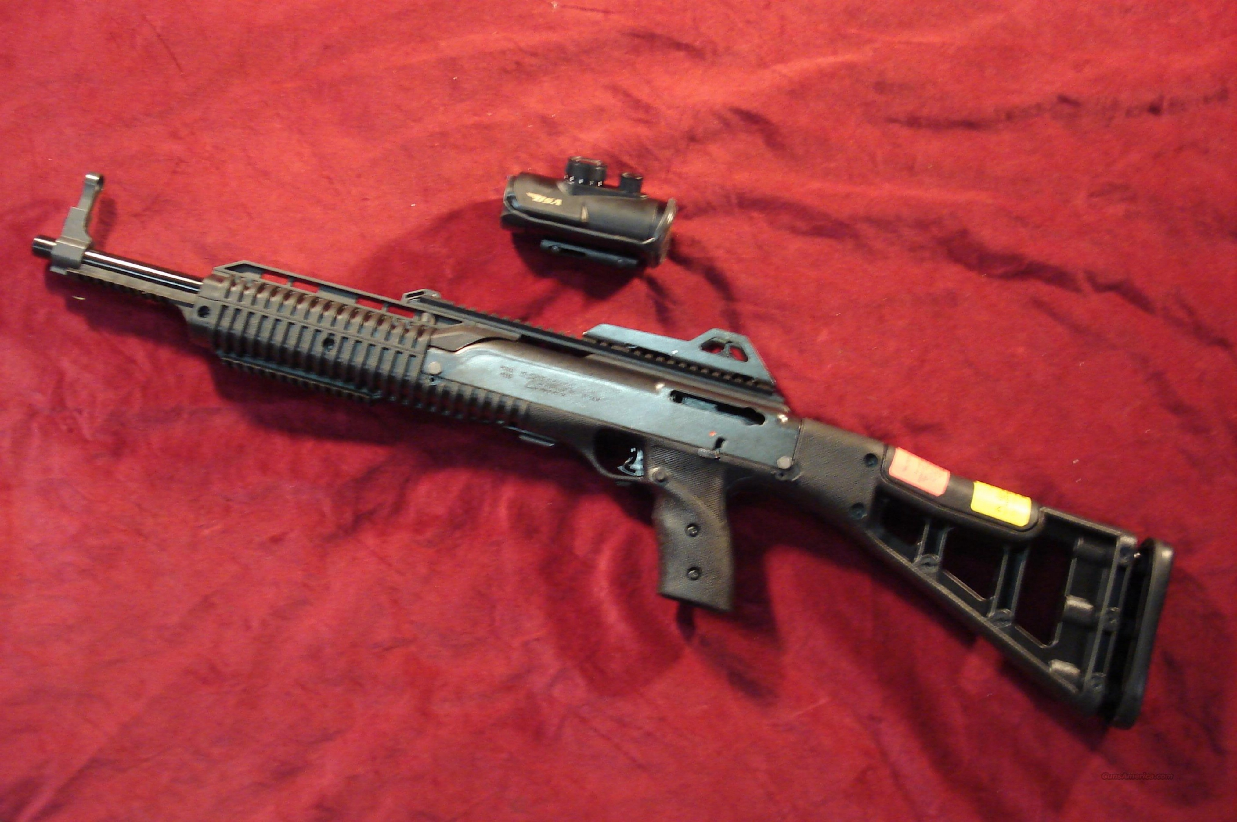 Vector Kriss Scope: Hi Point Tactical Cal Carbine W Bsa Red Dot Scope New