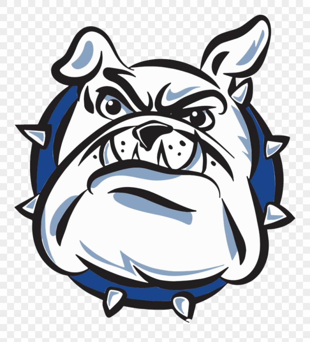 Bulldog Vector Art: Hixbixjefferson Traditional School Logo Anjing Bulldog Vector Clipart