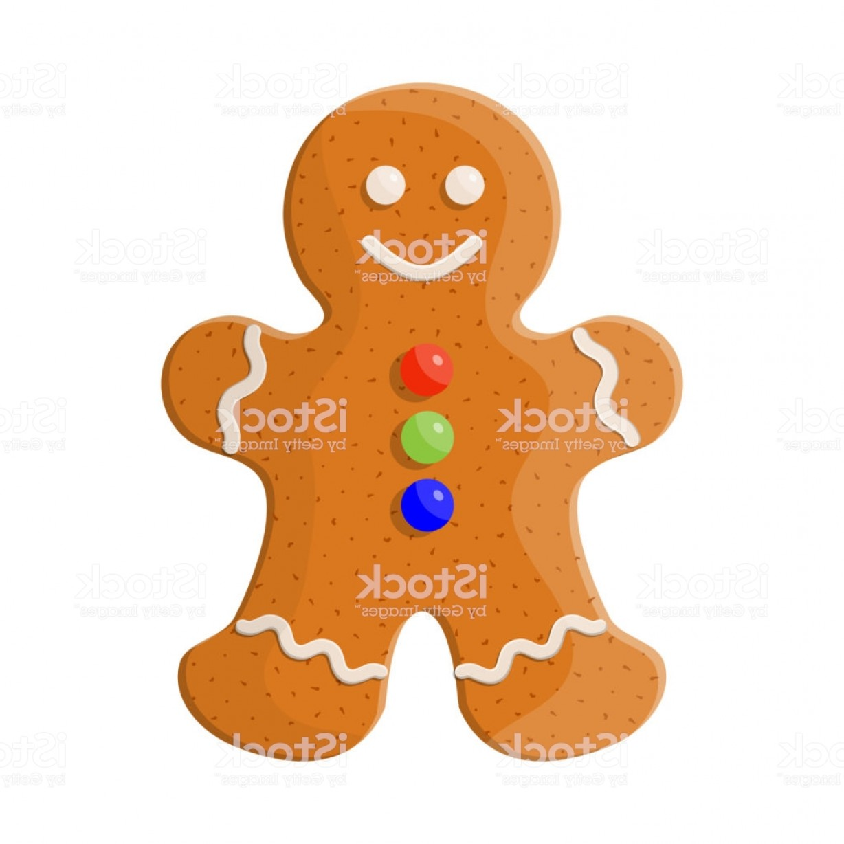 Vectors Holiday Baking: Holiday Gingerbread Man Cookie Gm