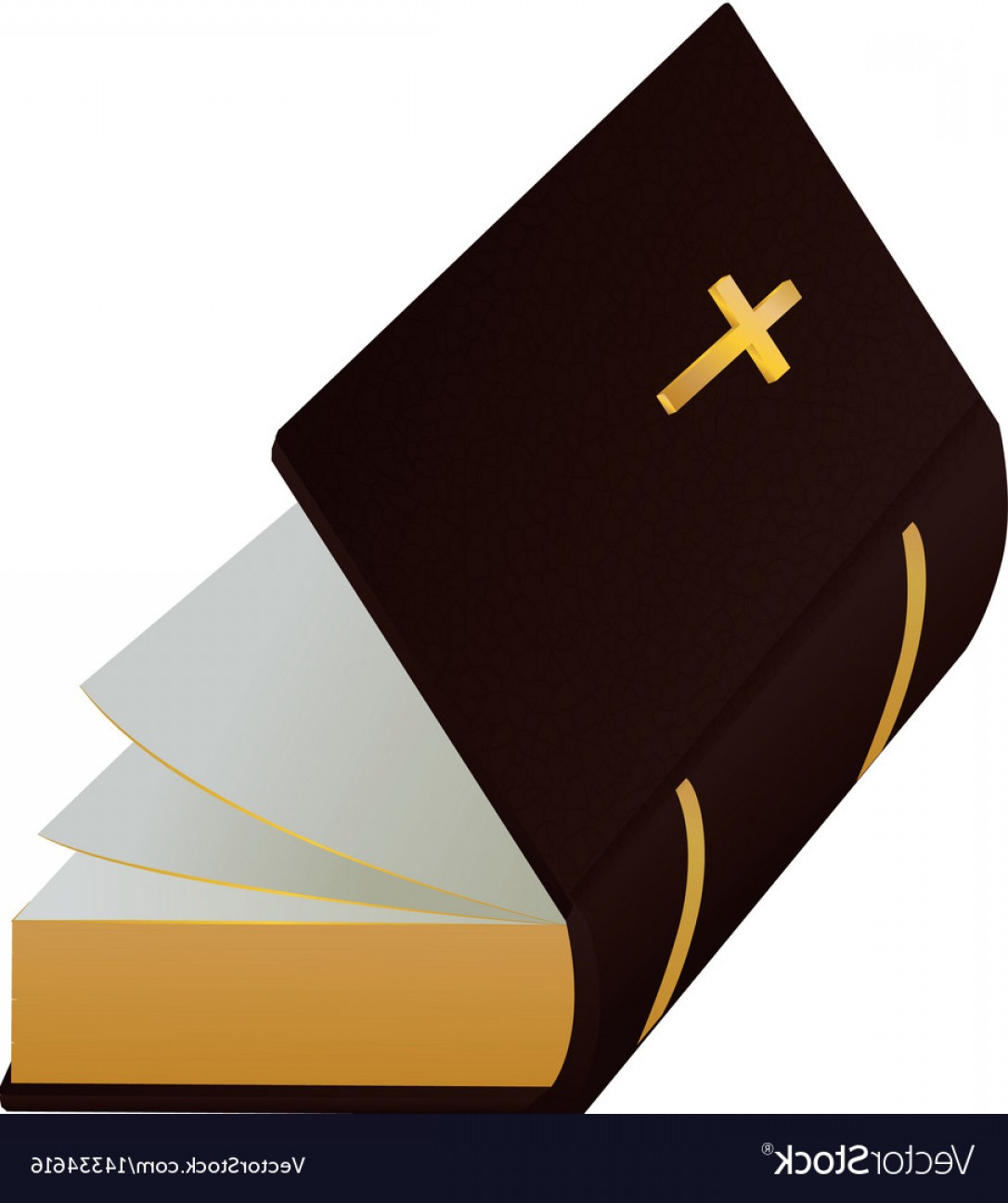 Holy Bible Vector: Holy Bible Christianity Symbol Vector