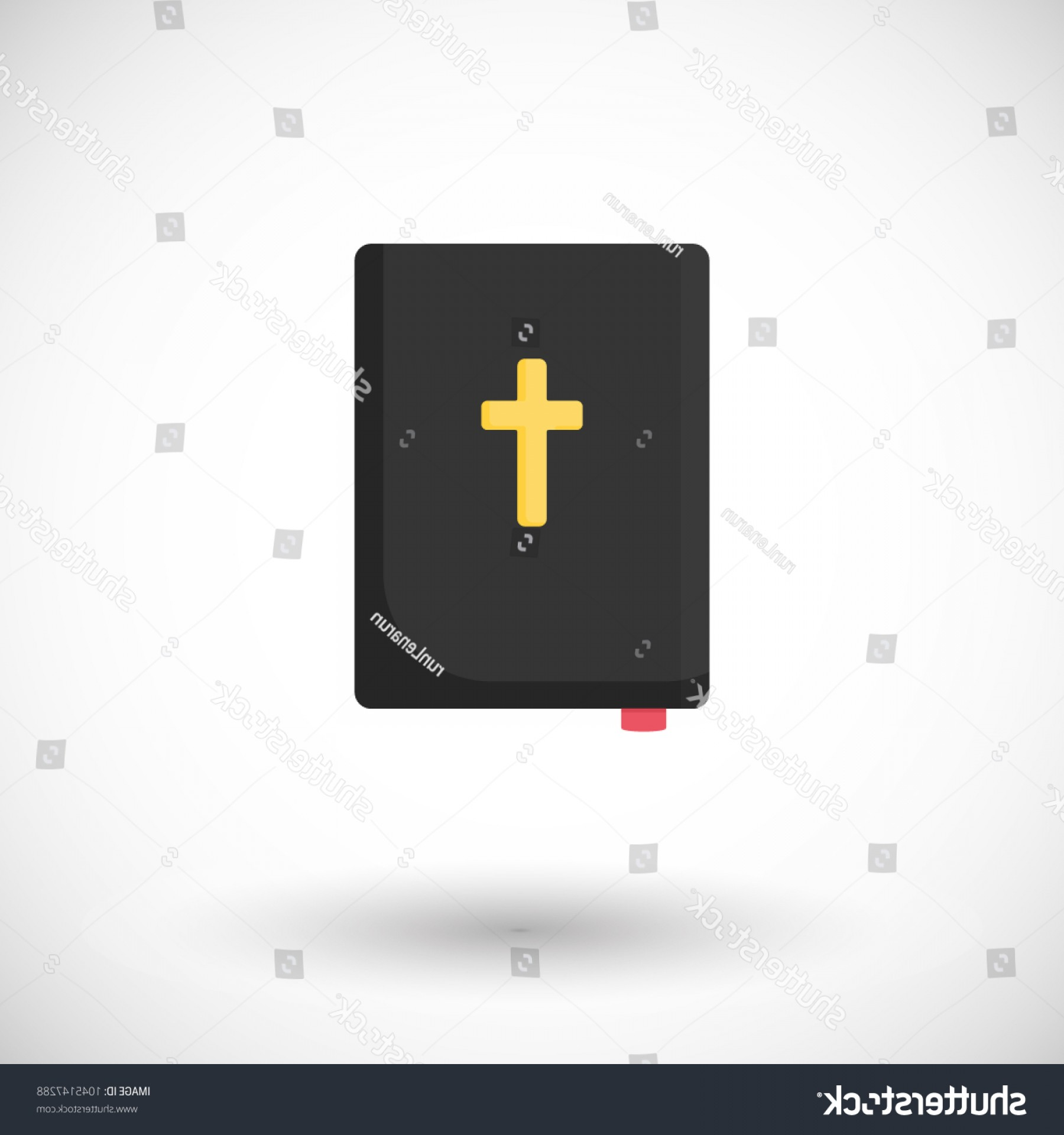 Holy Bible Vector: Holy Bible Vector Flat Icon Design