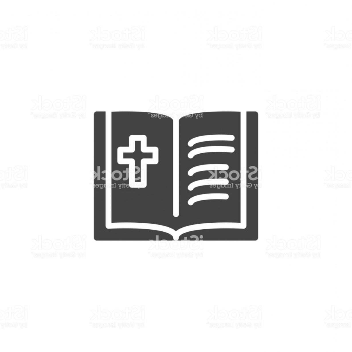 Holy Bible Vector: Holy Bible Vector Icon Gm