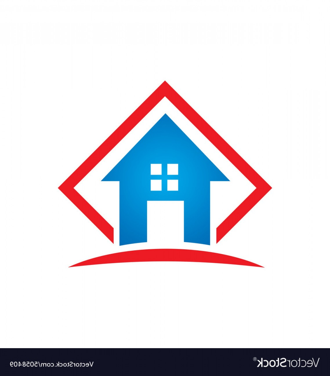 Home Logo Vector: Home Architecture Icon Building Logo Vector
