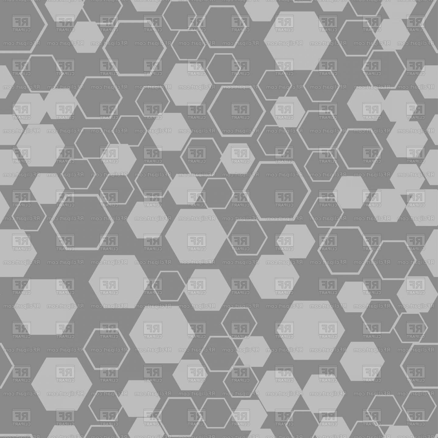 Honeycomb Background Pattern Vector: Honeycomb Background Seamless Texture Vector Clipart
