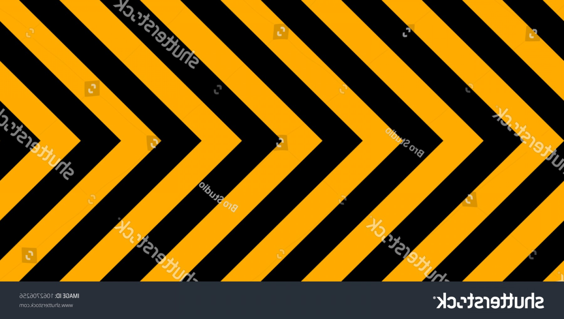 Caution Stripes Vector: Horizontal Background Yellow Black Stripes Industrial