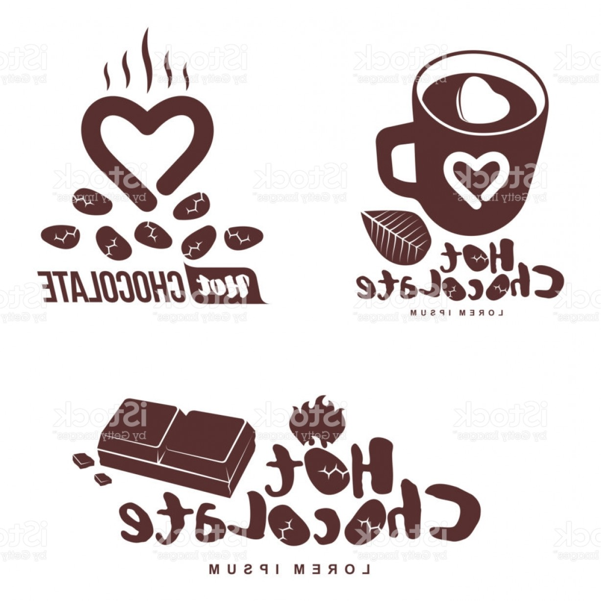 Powder Coating Vector Art: Hot Chocolate Symbol Template Gm