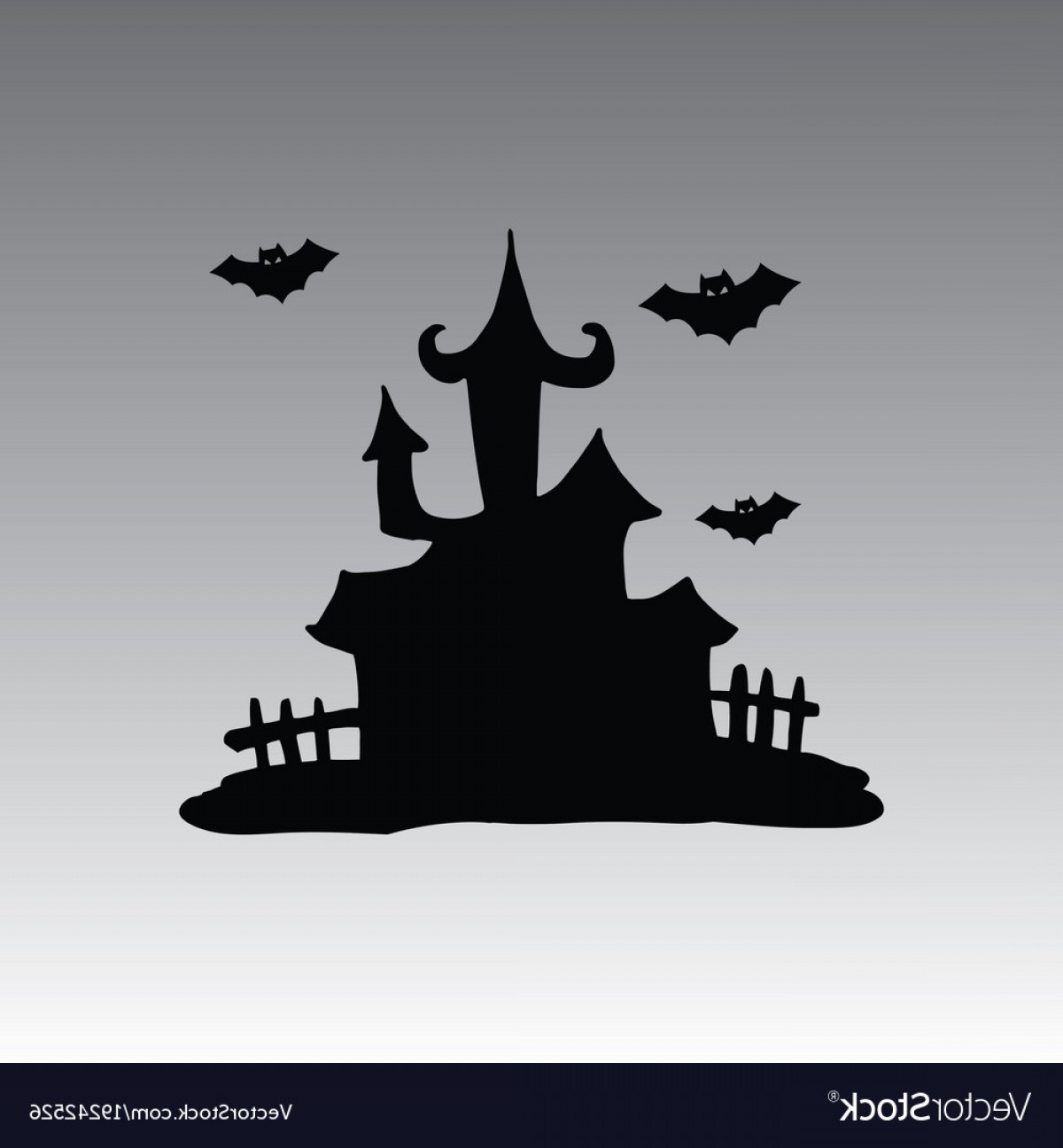 House Clip Art Vector: House Hallowen Clip Art Vector