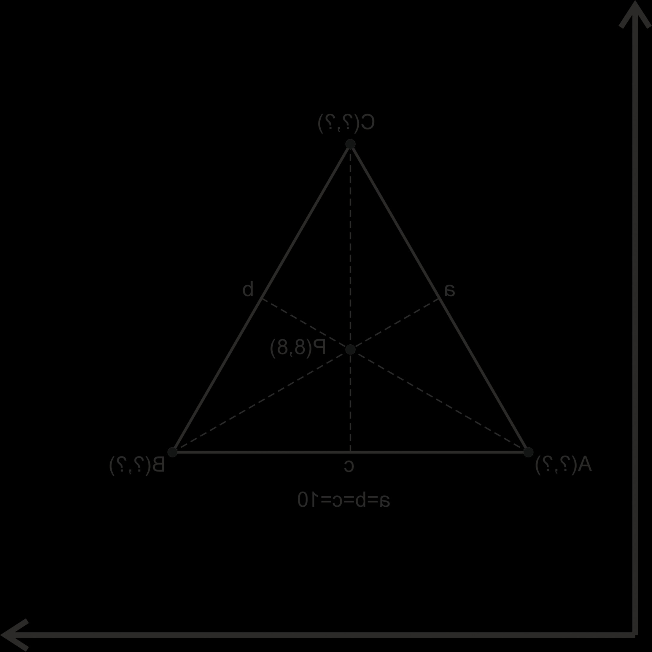 Write Vectors In Cartesian Coordinates: How To Calculate Triangle Coordinates In Cartesian Plane