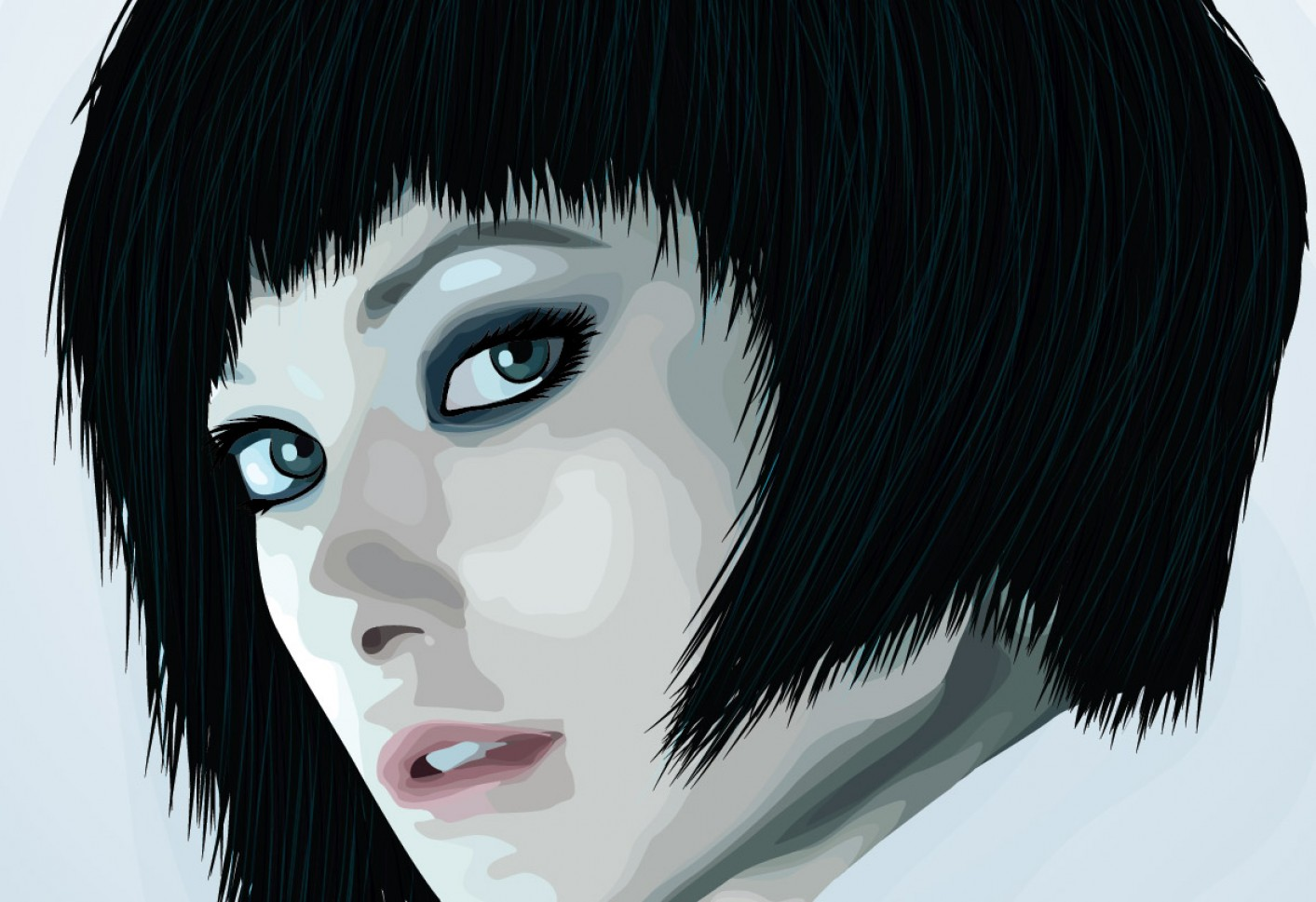 Vector Tut's Blends: How To Create A Beautiful Vector Portrait In Illustrator