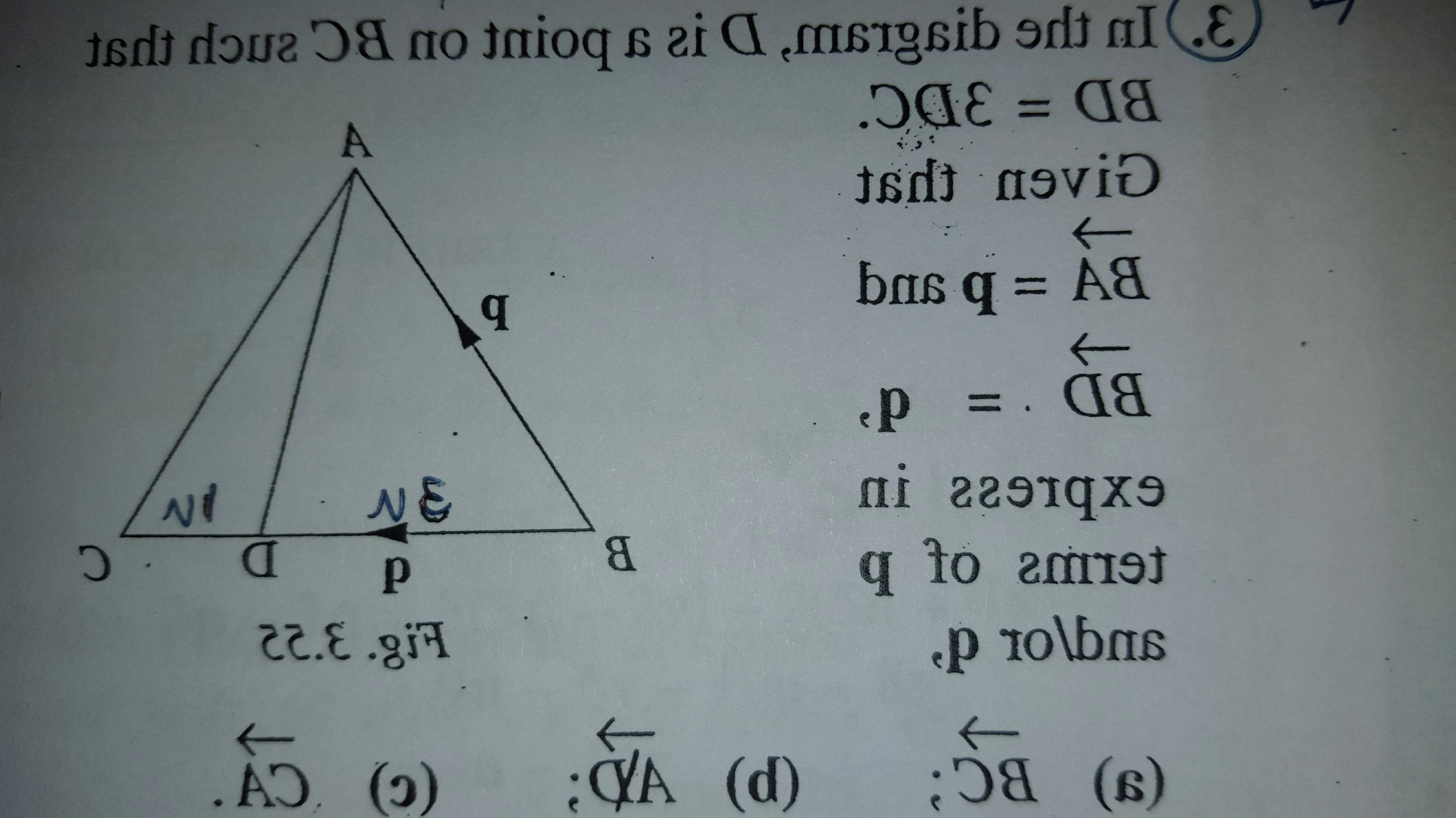 Ways To Write Vector BA: How To Do Vectors With Triangles