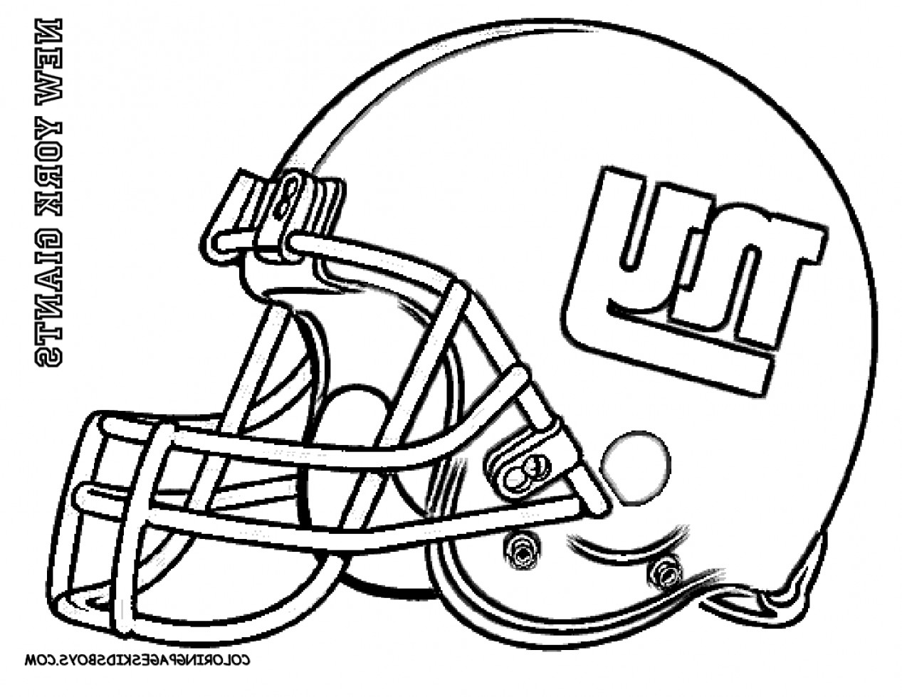 Seahawks Helmet Vector: How To Draw A Nfl Helmet