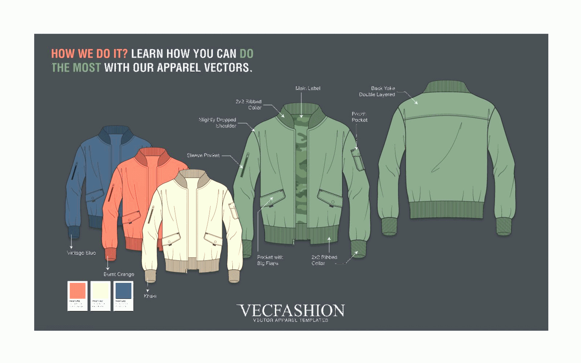 Vector In Adobe: How To Edit Vector Fashion Cads In Adobe Illustrator