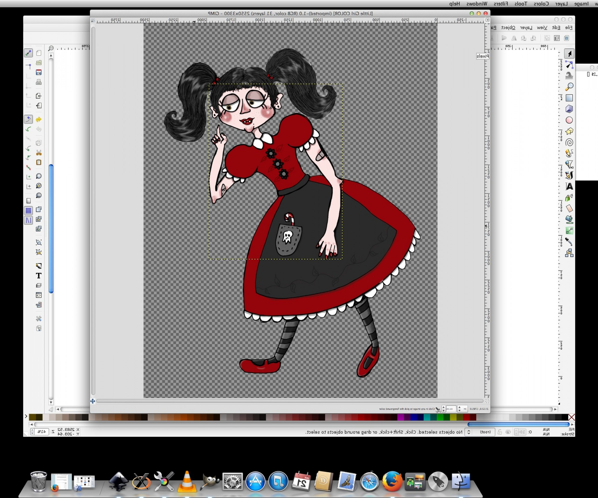 Inkscape Bitmap To Vector Pixel Art: How To Make An Ink Drawing Into A Vector Graphic U