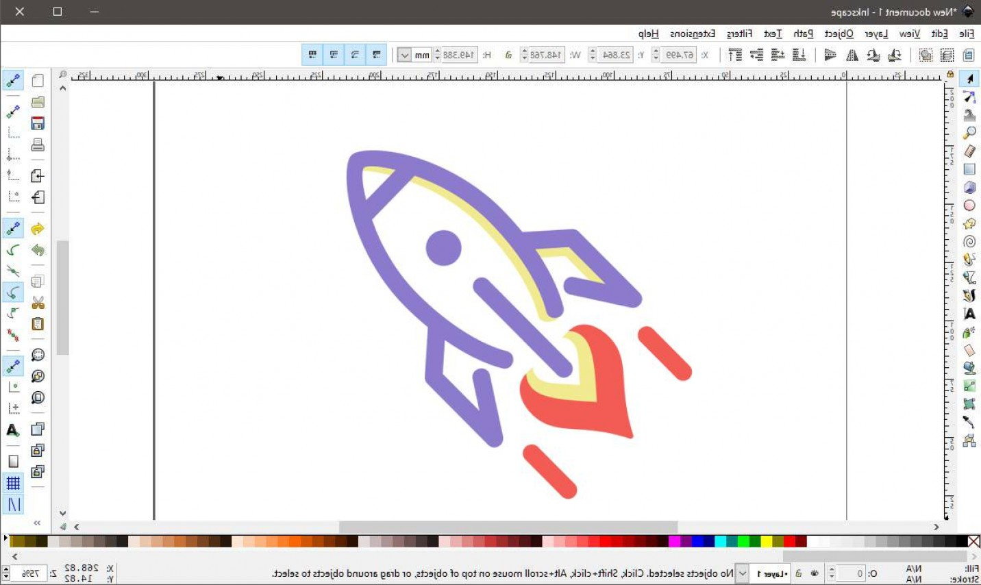 Use An Image To Vector Inkscape: How To Open And Use A Vector File
