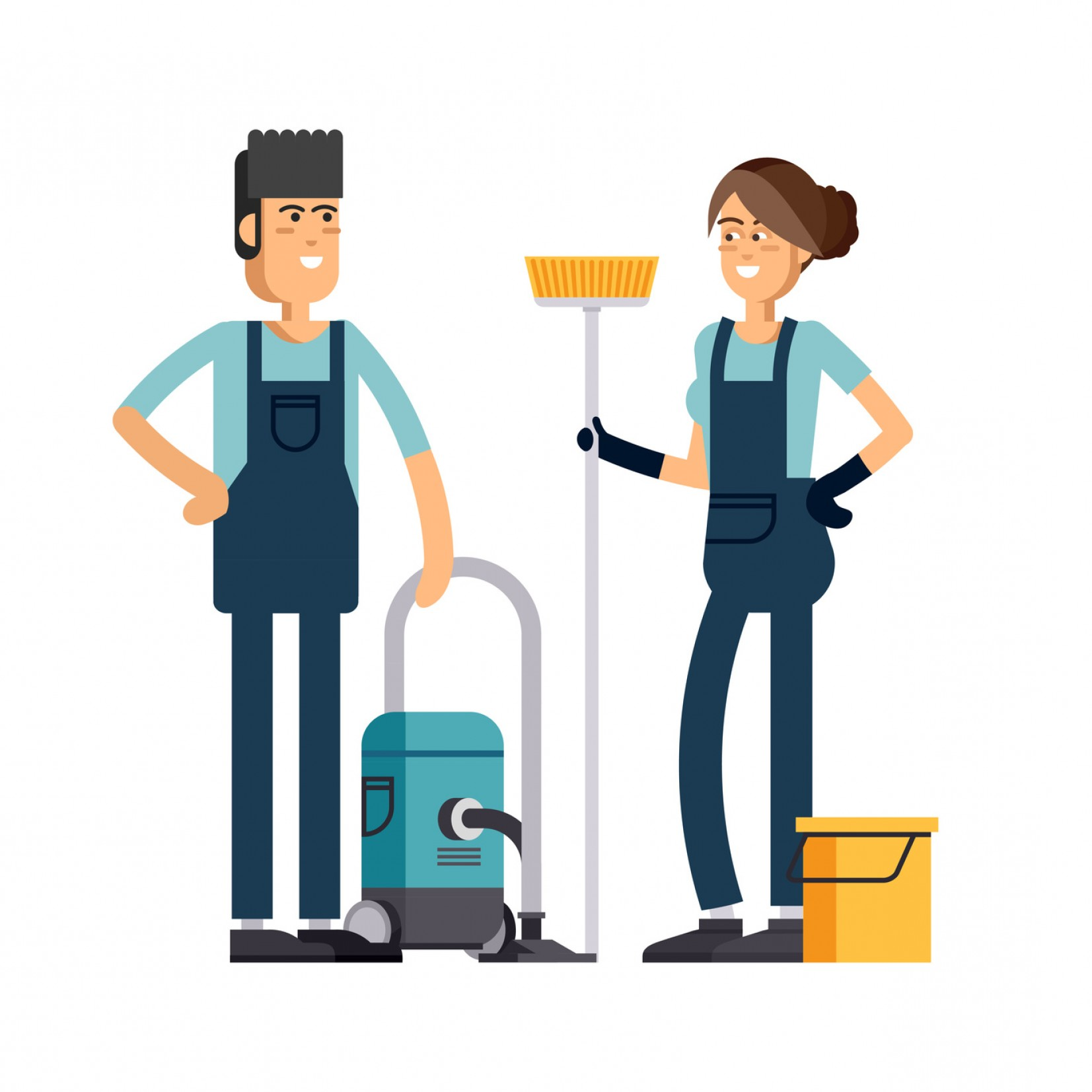Cleaning Vector Janitorail: How To Start A Janitorial Business
