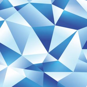 Turquoise Photoshop Vectors: How To Create An Icy Blue Vector Geometric Design