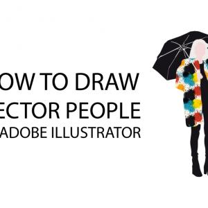 Vector In Adobe: How To Draw Vector People In Adobe Illustrator Acbcc