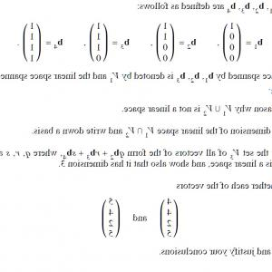 Linear Algebra Vector Zero: A Geometric Review Of Linear Algebra