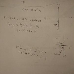 Trigonometry Solving Using Vectors: How To Solve A Bearing Vector Type Problem