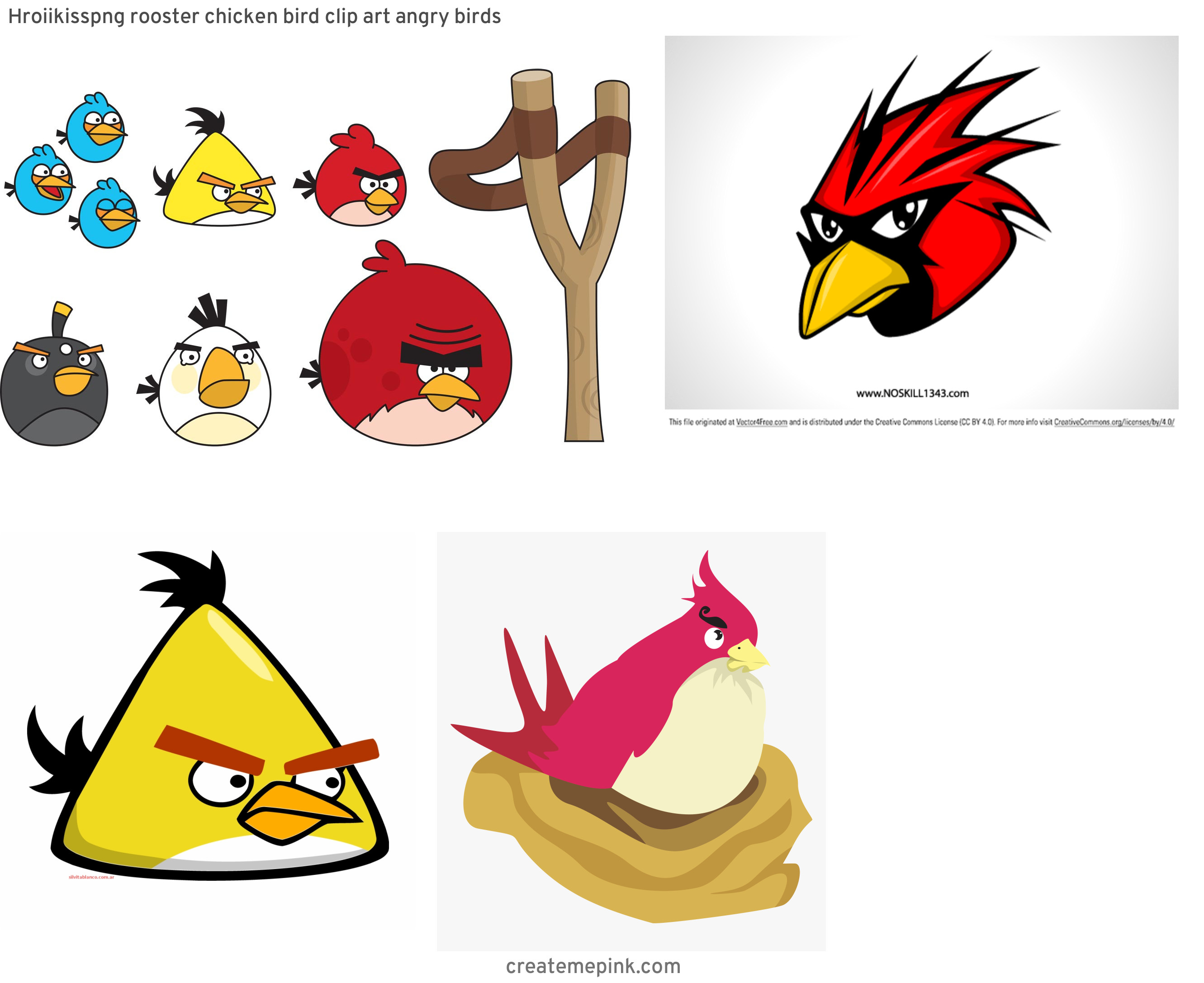 Red Angry Birds Vector: Hroiikisspng Rooster Chicken Bird Clip Art Angry Birds