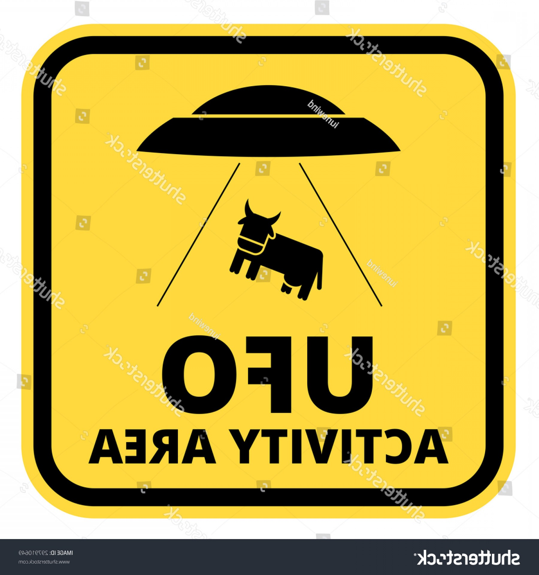 Road Sign Silhouette Vector Bear: Humorous Danger Road Signs Ufo Aliens