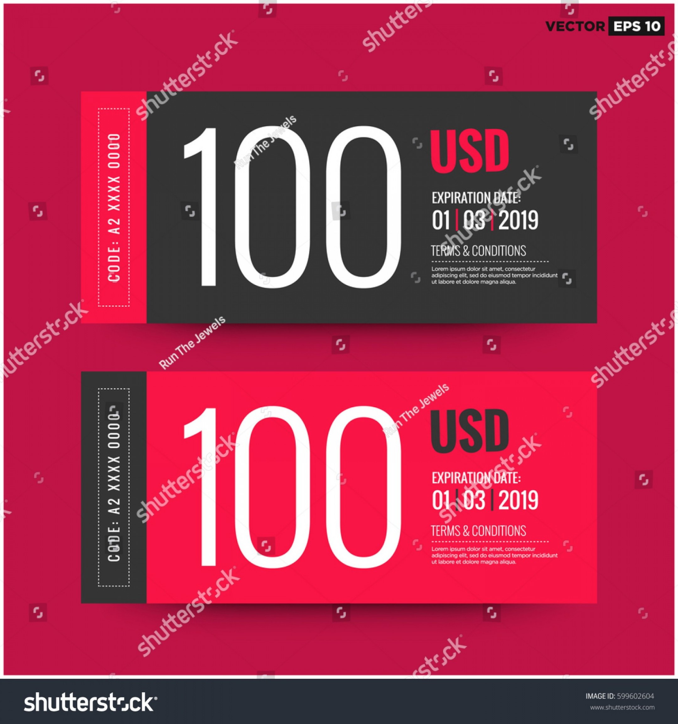 RedVector Coupon: Hundred Dollars Gift Card Coupon Code