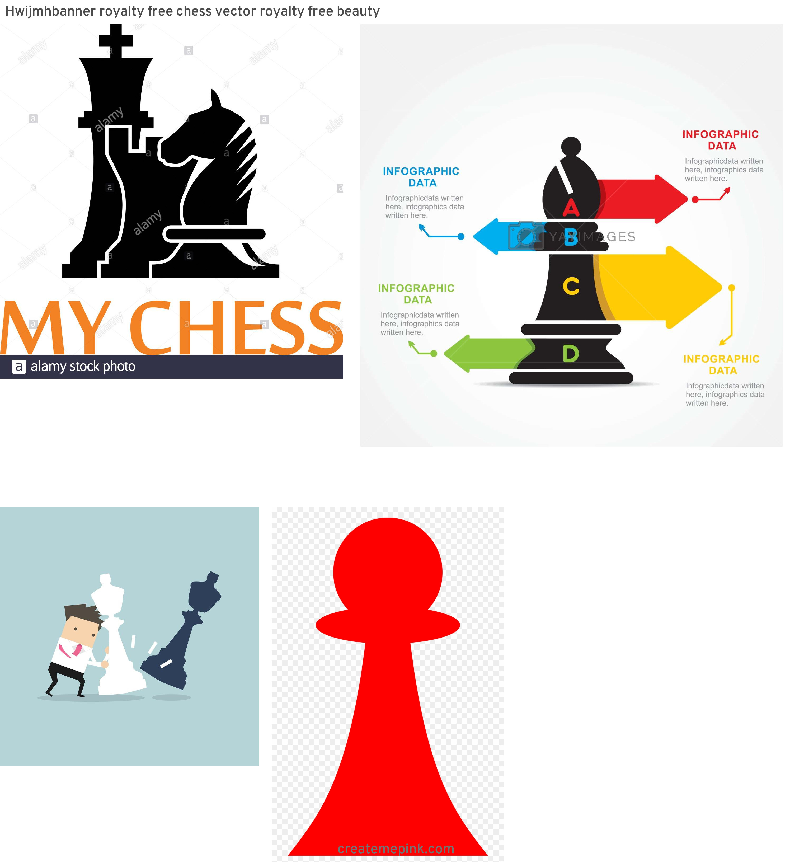 Chess Vector Graphic: Hwijmhbanner Royalty Free Chess Vector Royalty Free Beauty