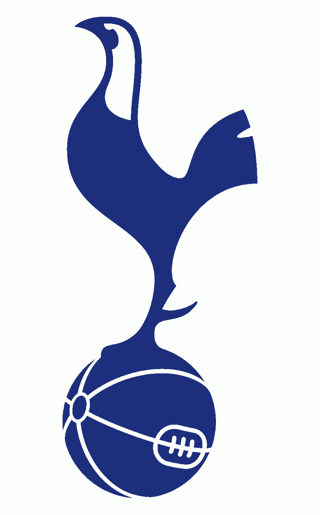 Football Laces Vector Silhouette: Hxhbortottenham Hotspur Football Club Logo Vector Eps Free