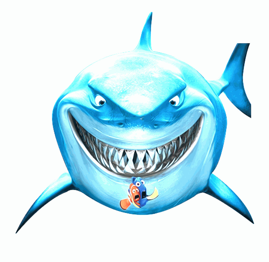 Vector Finding Nemo Fish: Hxohtbdory Clipart For Download Shark Finding Nemo