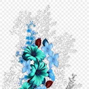 Floral Design Vector Graphic: Hxjjixvector Flower Vector Art Flower Vector Vector Flower