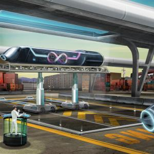 Loopy Vector Road: Hyperloop One Test Size Speed Loop Elon Musk