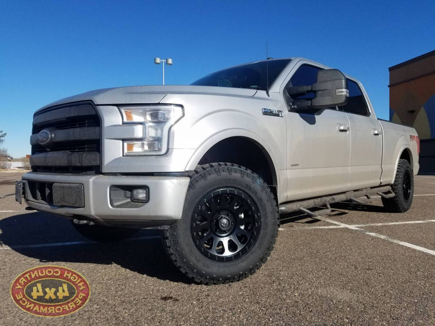 F150 Vector: I Ford F Readylift Leveling Kit Fuel Vector X Wheels R Duratrac Tires Build