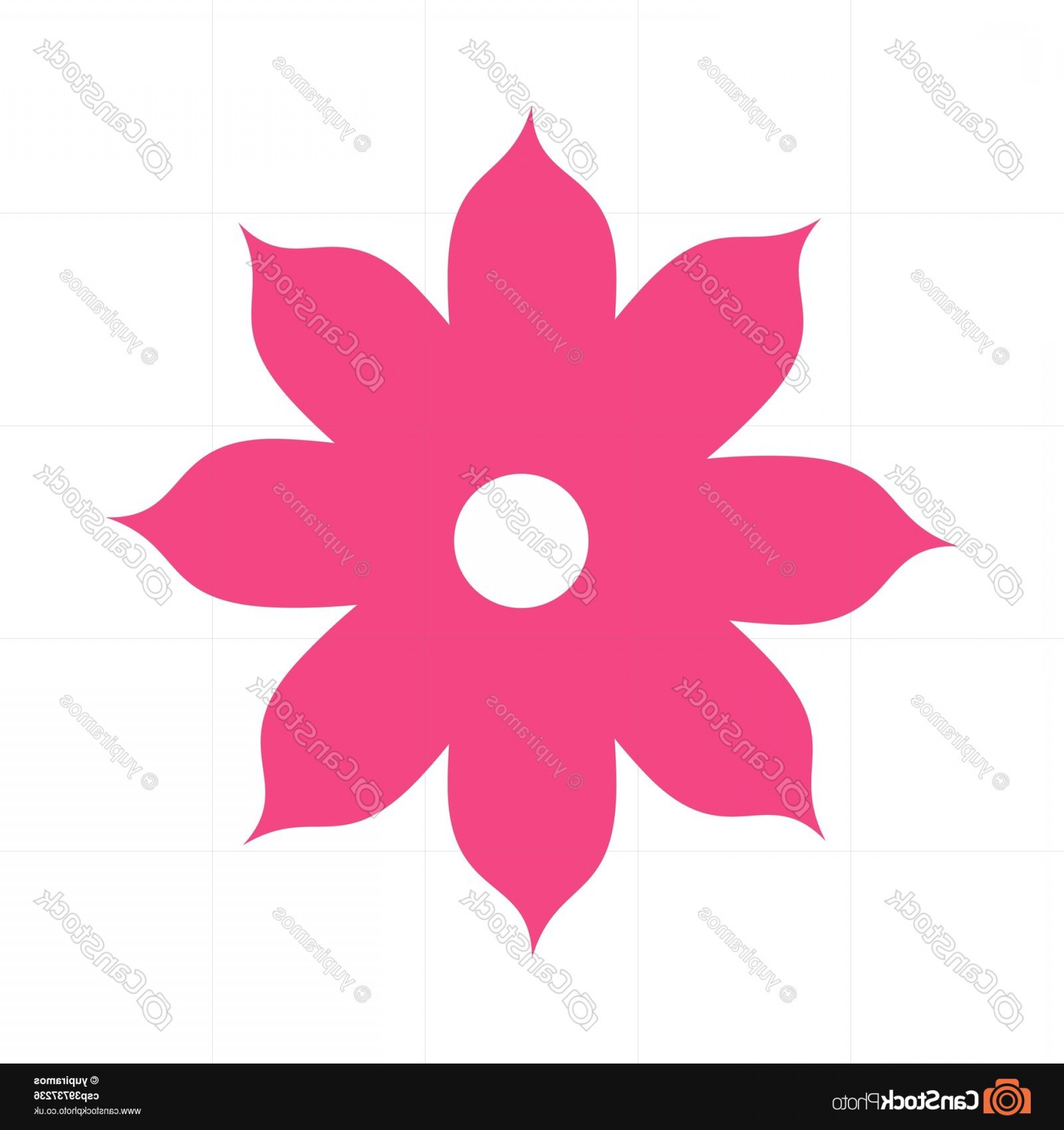 Icon Of Flower Vectors: Icon Flower Spring Petals Florals