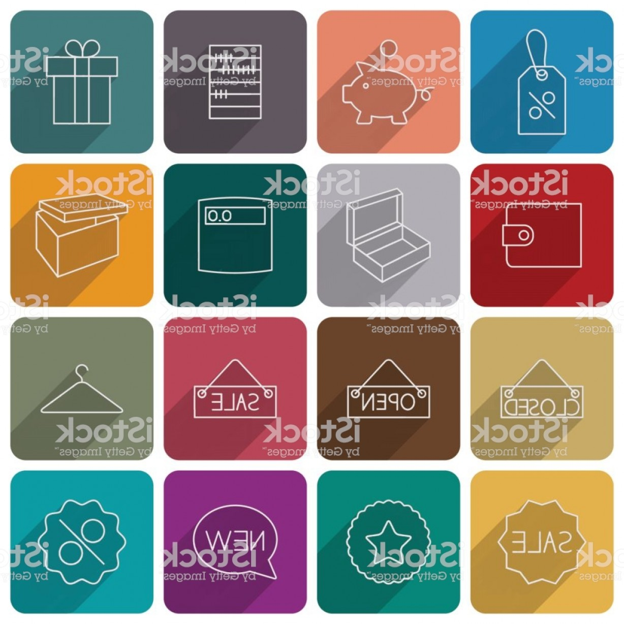 Purchase Vector Art: Icons Purchase Vector Illustration Gm