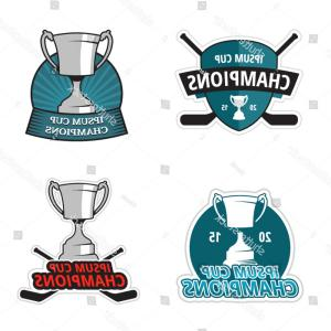 Ice Champions Cup Vector: Stock Illustration Pictograph Of Champions Cup