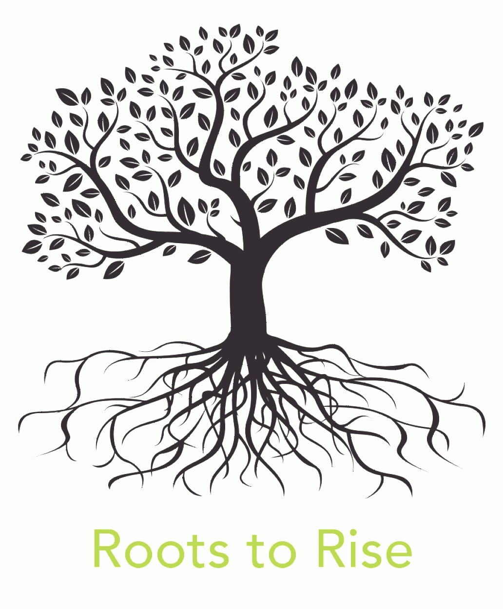 Vector Tree With Roots Drawing: Ihwwjtclip Art Vector Graphics Root Tree Image Tree