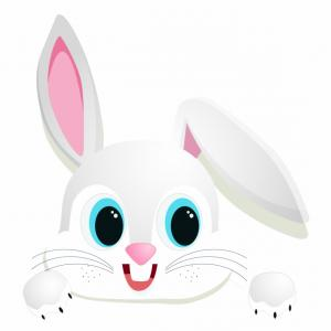 Bunny Ears Headband Vector: Ihtrjitbunny Vector Eyes Transparent Bunny Ear Cartoon