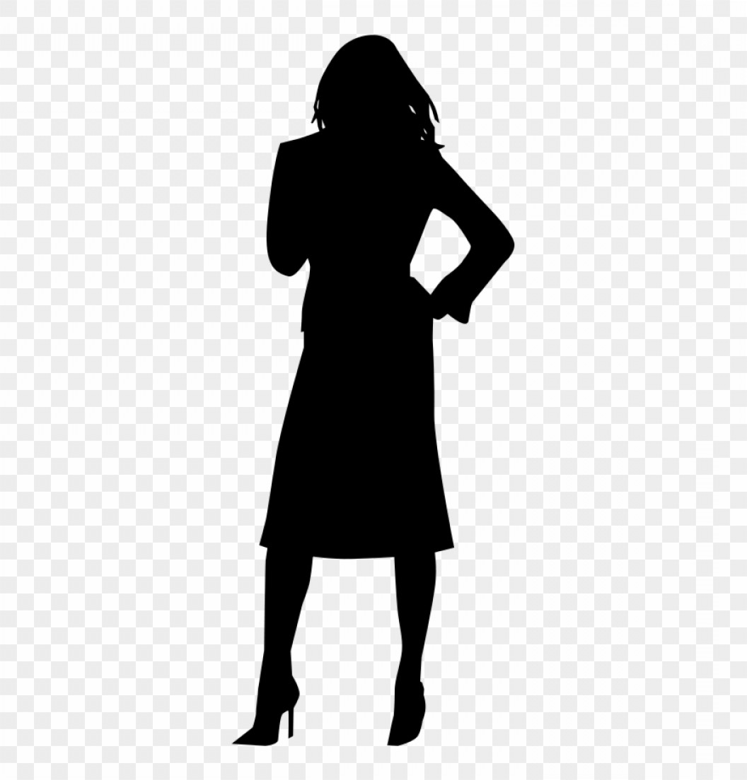 Sexy Silhouette Vector Art: Iihbbhsexy Clip Art Woman Silhouette Vector Png Download