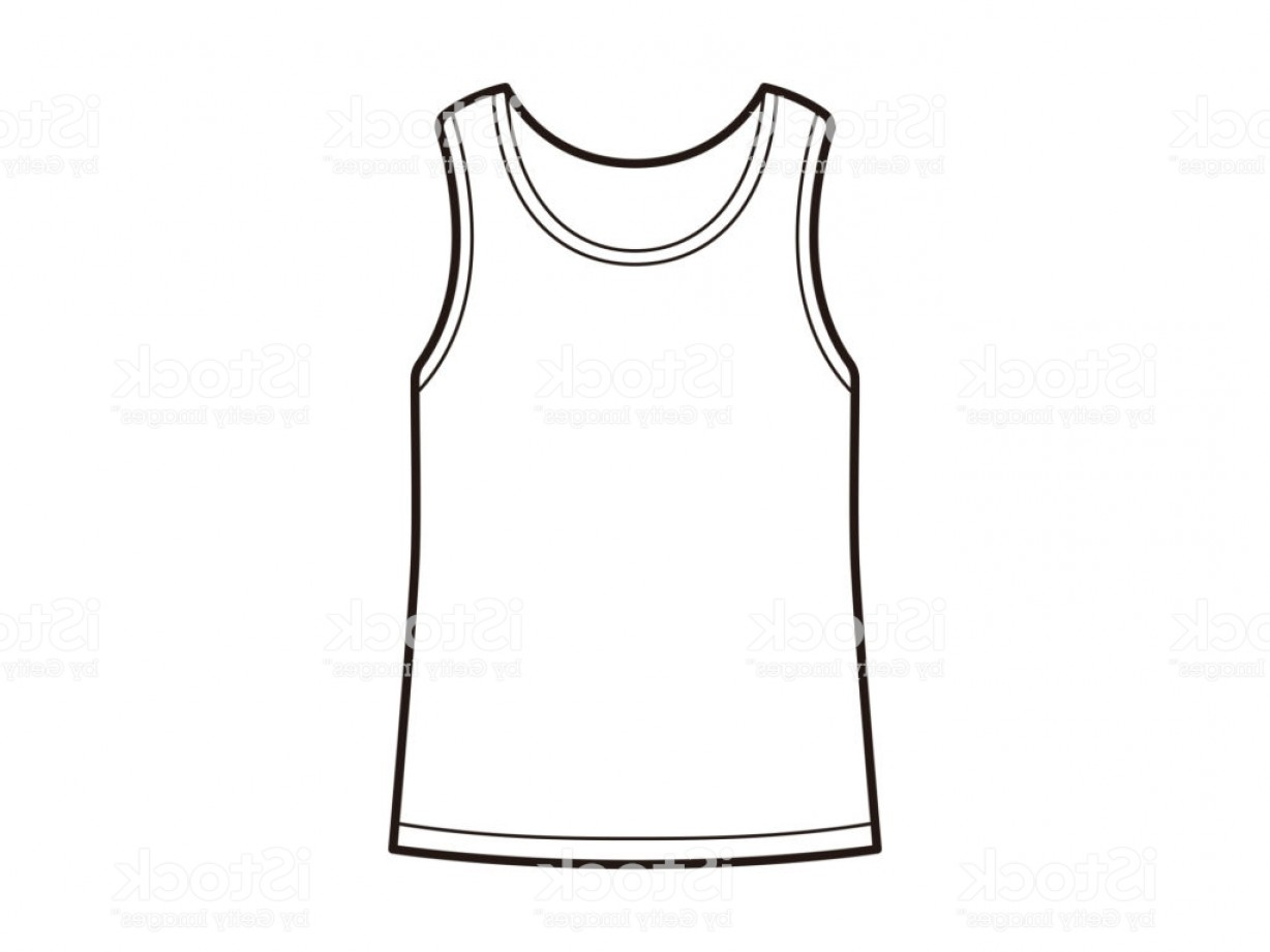 Best Tank Top Vector: Illustration Of A Tank Top Gm