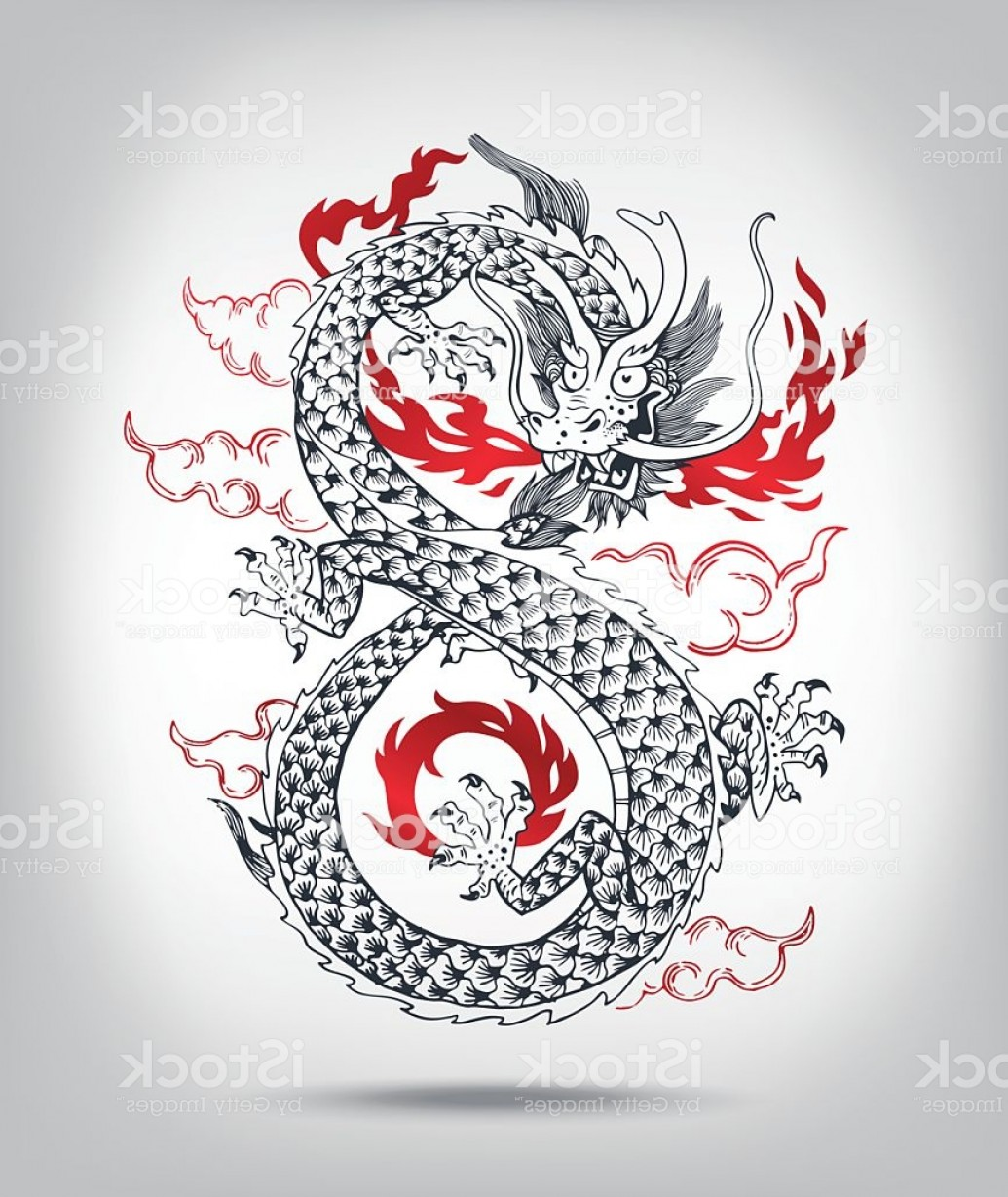 Oriental Dragon Vector: Illustration Of Traditional Chinese Oriental Dragon Gm