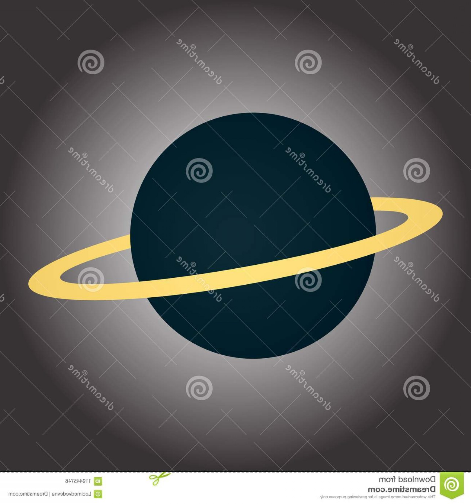 Planets Vector Graphics: Image Blue Planet Ring Illustration Theme Cosmos Vector Graphics Image Blue Planet Ring Image
