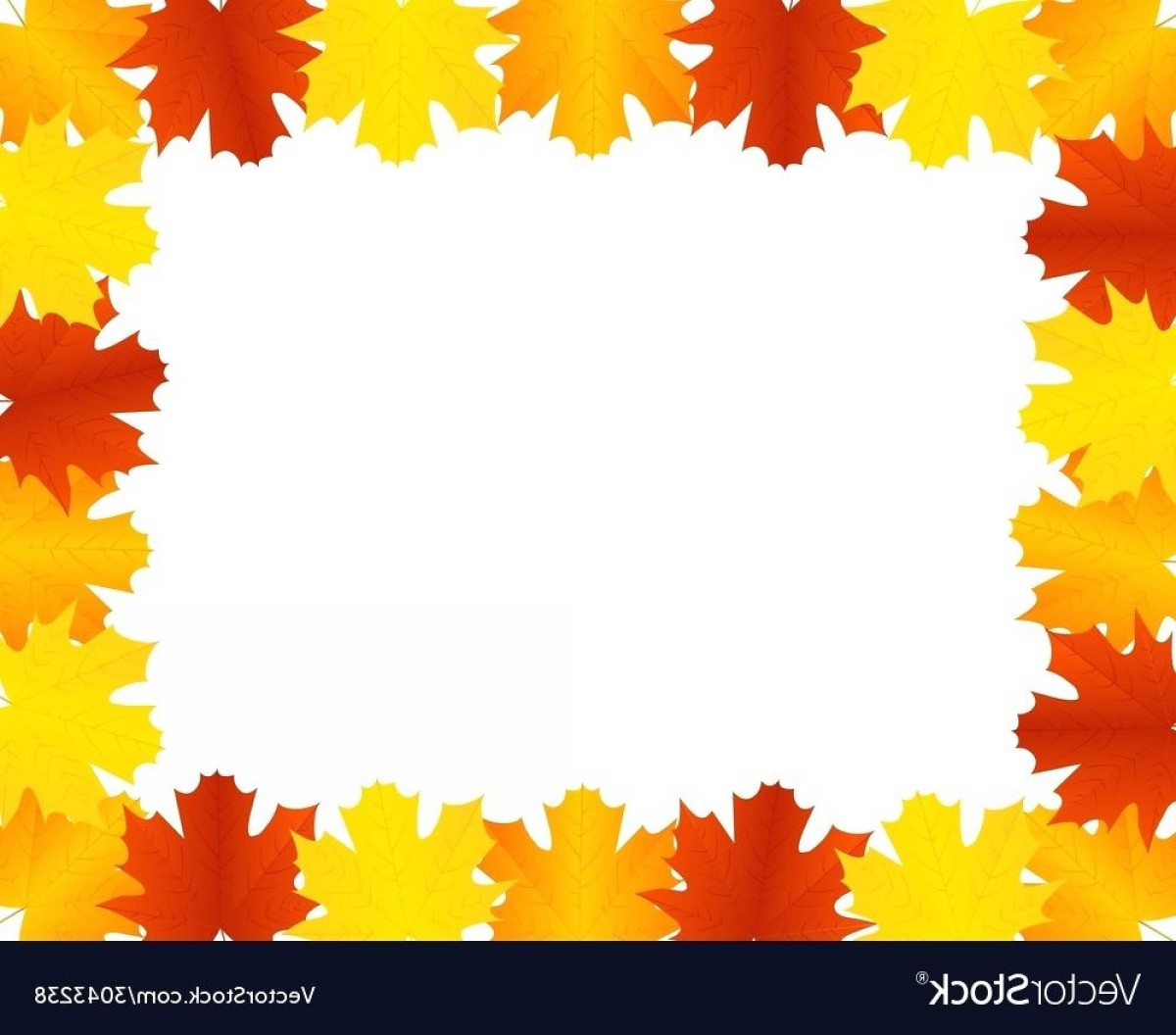 Thanksgiving Border Vector: Images Of Autumn Leaves Autumn Leaves Border Vector Image Images Of Autumn Leaves And Trees