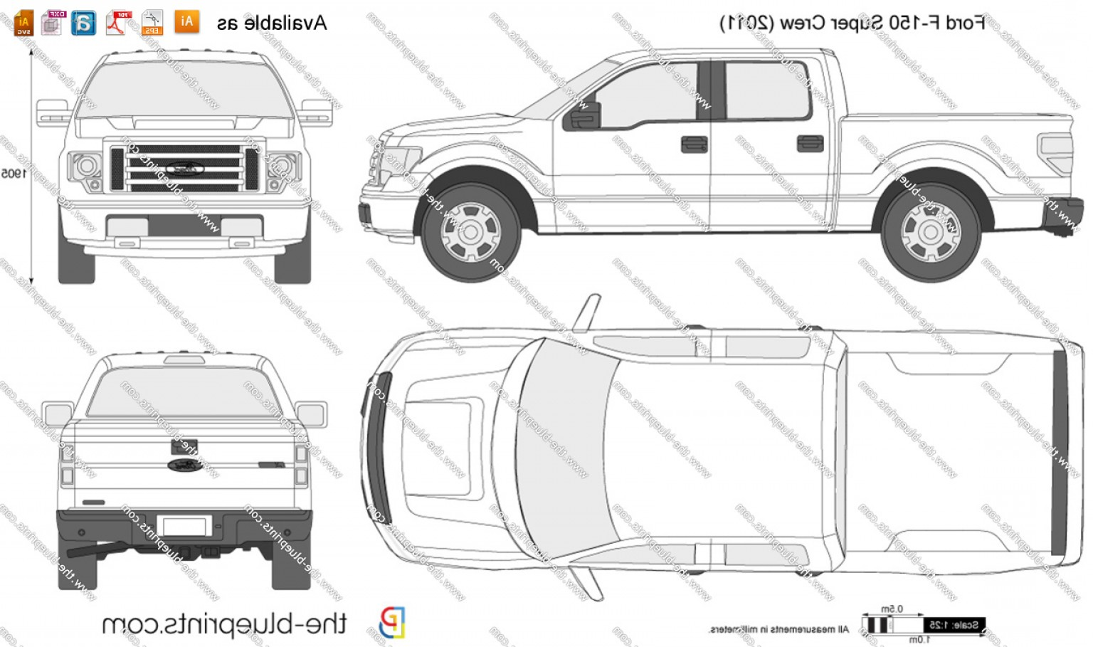 F150 Vector: Images Of F Template Download